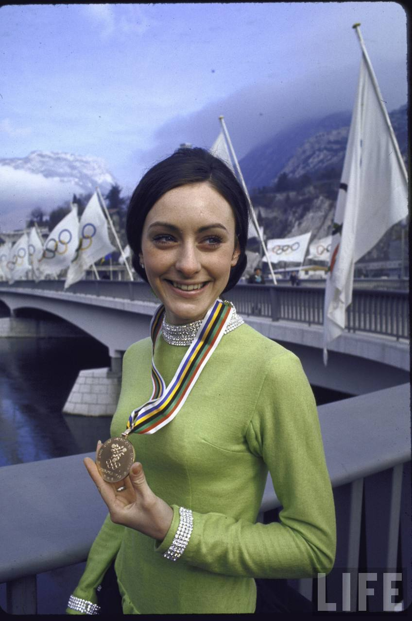 Peggy fleming haircut